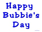 Happy Bubbie's Day