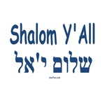 Shalom Y'All English and Hebrew