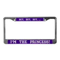 Silly License Plate Frame Gifts