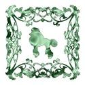 Poodle Green Ornamental Lattice