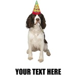 Personalized Springer Spaniel Birthd