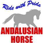 Ride With Pride Andalusian Horse