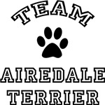 Team Airedale Terrier Greeting Cards