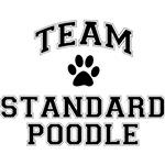 Team Standard Poodle T-Shirts
