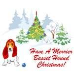 Have A Merrier Basset Hound Christmas