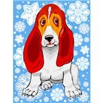 Holiday Basset Hound