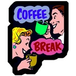 Retro Coffee Break T-Shirts