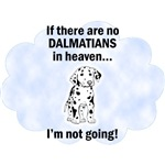 Dalmatians In Heaven T-Shirt