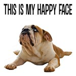 Happy Face Bulldog