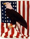 Patriotic Bald Eagle T-Shirts