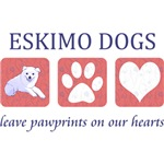 Eskimo Dog Pawprints