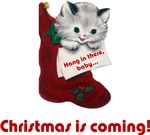 Cat Christmas Stockings