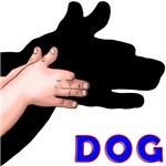 SHADOW PUPPET DOG