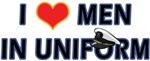 I LOVE MEN IN USA NAVY UNIFORM