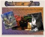 Cats n Zen Calendar Collection