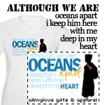 Although We Are Oceans Apart T-Shirts and Gifts