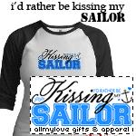 I'd Rather Be Kissing My Sailor T-Shirts and Gifts