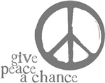 Give Peace a Chance - Grey