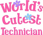 Worlds Cutest Technician Gifts and T-shirts
