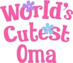 Worlds Cutest Oma Gifts and T-shirts