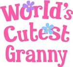 Worlds Cutest Granny Gifts and T-shirts