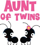 Aunt of Twins T-shirts and Gifts