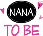 Nana to Be Butterfly T-shirts and Gifts