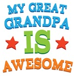 My Great Grandpa Is Awesome Kids Tshirts