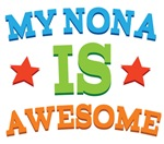 My Nona Is Awesome T-shirts & Gifts
