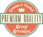 Premium Vintage Great Grandpa Gifts and T-Shirts