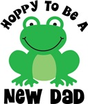 Hoppy to be a New Dad Gifts and T-shirts