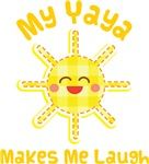 My Yaya Makes Me Laugh Kids Apparel