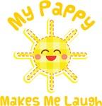 My Pappy Makes Me Laugh Kids Apparel