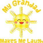 My Grandad Makes Me Laugh Kids Apparel
