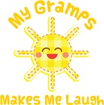 My Gramps Makes Me Laugh Kids Apparel