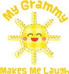 My Grammy Makes Me Laugh Kids Apparel