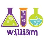 Personalized Scientist Kids T-shirts