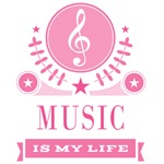 Music Is My Life Quote Music Gifts