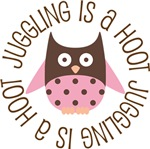 JUGGLING IS A HOOT OWL TEES AND GIFTS