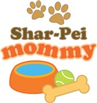 Shar-Pei Mom T-shirts and Gifts