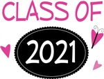 Cute Class of 2021 Pride T-shirts