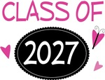 Cute Class of 2027 Pride T-shirts