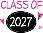 Cute Class of 2027 Pride T-shirts