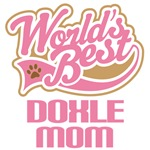 Doxle Dog Mom T-shirts
