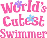 Worlds Cutest Swimmer Gifts and T-shirts