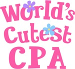 Worlds Cutest CPA Gifts and Tshirts