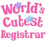 Worlds Cutest Registrar Gifts and Tshirts