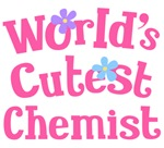 Worlds Cutest Chemist Gifts and Tshirts