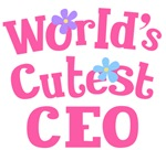 Worlds Cutest CEO Gifts and Tshirts