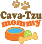 Cava-Tzu Mom T-shirts and Gifts